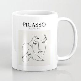 Picasso - Woman with Dove Coffee Mug
