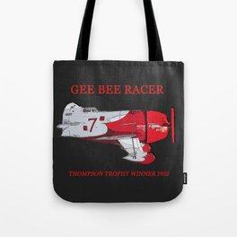 Gee Bee racer 1931 Tote Bag