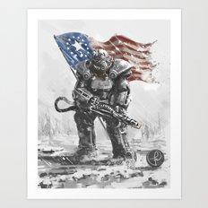 Anchorage 2077 Art Print