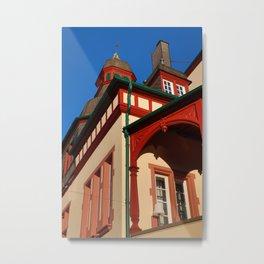 Moorish corner tower Metal Print