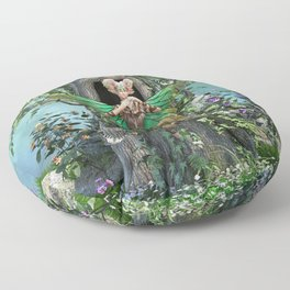 Woodland Melody Floor Pillow