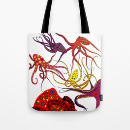 Consortium of Octopi Tote Bag