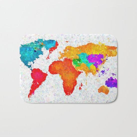 My World of Art   Bath Mat