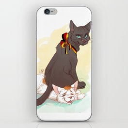 Germouser and Itabby iPhone Skin