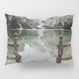 The Calm Mountain Waters Pillow Sham