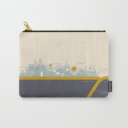 """City on a """"Plate"""" Carry-All Pouch"""