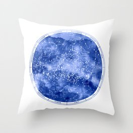 Southern Stars Throw Pillow