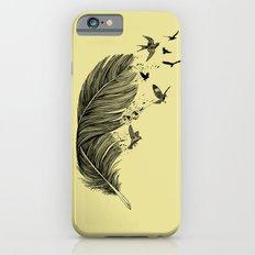 Feather Birds BW iPhone 6s Slim Case