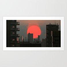 Red #1 Art Print
