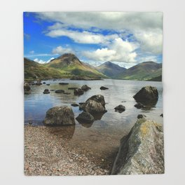 The Lake District Throw Blanket