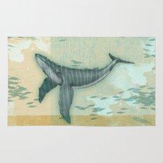 rhythm of the whale Rug
