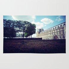 Louvre Gardens I Rug