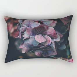 FLOWERS - FLORAL - PINK - RED - PHOTOGRAPHY Rectangular Pillow