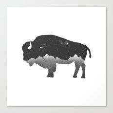 The Buffalo Canvas Print