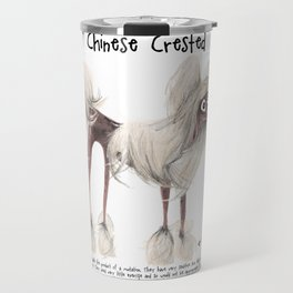 C is for Chinese Crested Travel Mug