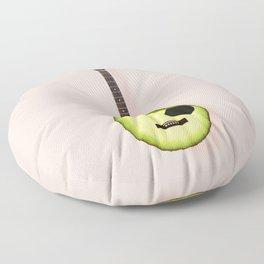 AVOCADO GUITAR Floor Pillow