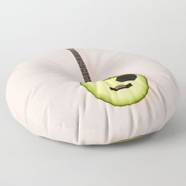AVOCADO GUITAR Floor Pillow