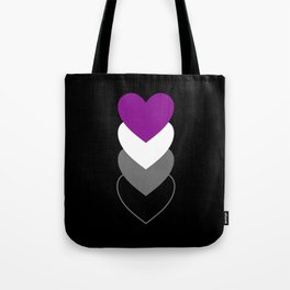 Asexuality in Shapes Tote Bag