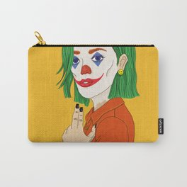 Joker girl - Put on a happy face Carry-All Pouch