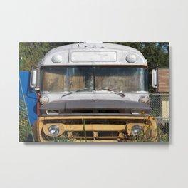 ~Bus stops~ Metal Print