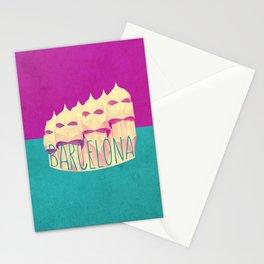 Barcelona Gaudi Paradise Stationery Cards
