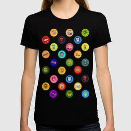 Asian Snacks polka dots memories T-shirt