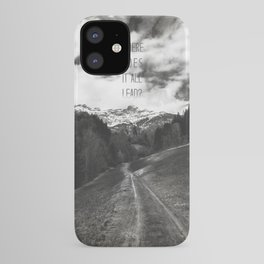 Where does it all lead? iPhone Case