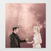 captain swan Canvas Prints featuring Captain Swan by The BMB