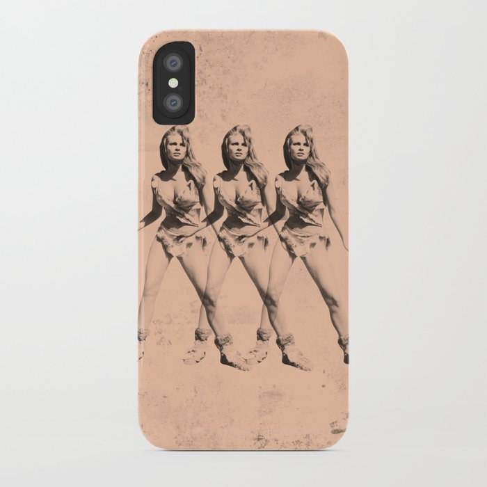 Raquel Welch in Triplicate iPhone Case
