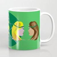 goddess Mugs featuring Goddess by Watch House Design