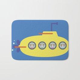 The Beagles - Yellow Submarine Bath Mat