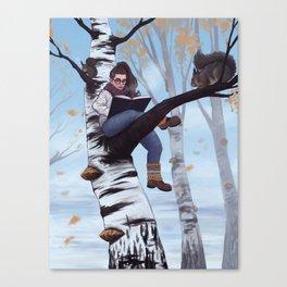 Treegirl Canvas Print