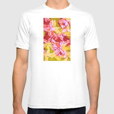 Tropical Punch SMALL White Mens Fitted Tee