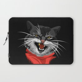 The Cat with a golden tooth Laptop Sleeve