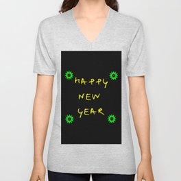 happy new year 11 Unisex V-Neck
