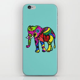 psychedelephant iPhone Skin