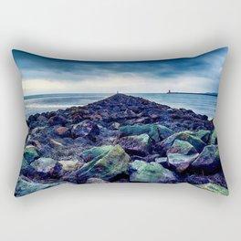 Road to the Sea Rectangular Pillow