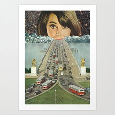 Traffic School Art Print