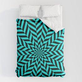 Op art Comforters
