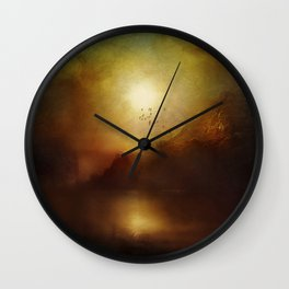 Poesia II Wall Clock