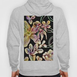 Colorful Flower Wall Hoody