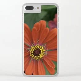 Save Island Flowers Clear iPhone Case