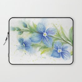 Veronica, Floral Watercolor Laptop Sleeve