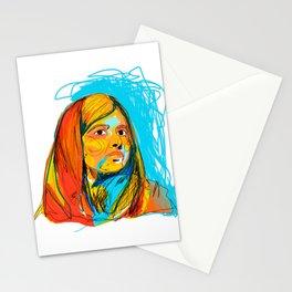Malala Yousafzai by Aitana Pérez Stationery Cards