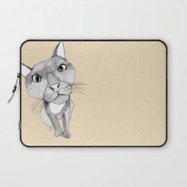 BigHead Cat Laptop Sleeve