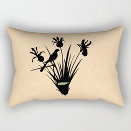 Tennessee - State Papercut Print Rectangular Pillow