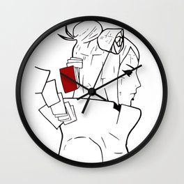 DANCE OF THE SHIKIGAMI Wall Clock