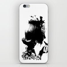 WOMAN SOLDIER iPhone & iPod Skin