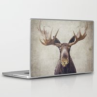 moose Laptop & iPad Skins featuring Moose by Retro Love Photography