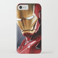 ironman iPhone & iPod Cases featuring IronMan by San Fernandez